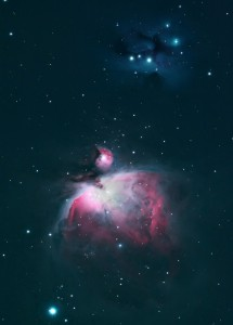 M42 NGC1970 Orion and the Running Man Nebula