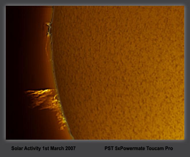 sun1 march hydrogen alpha
