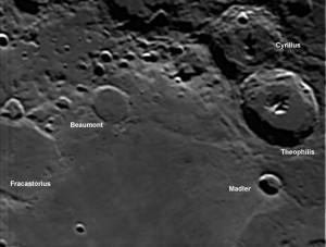 theophilis lunar area
